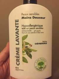 L'Arbre vert - Hypoallergénique - Crème lavante mains douceur