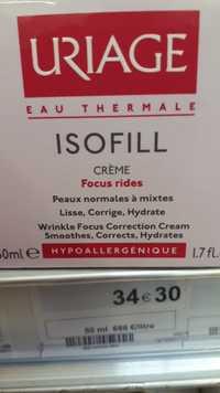 URIAGE - Isofill - Crème focus rides