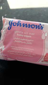 Johnson's - Gentle all over - Baby wipes