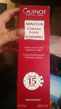 Guinot - Minceur Chrono Logic Slimming - Crème concentrée minceur corps