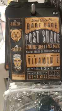 Primark - Bare Face - Masque facial de refroidissement