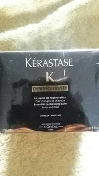 L'ORÉAL - Kérastase - K chronologiste