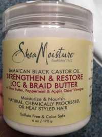Shea Moisture - Strengthen & restore loc & braid butter