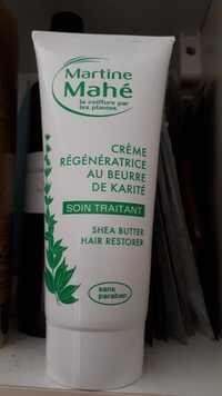 Martine Mahé - Soin traitant - Crème régénératrice au beurre de karité