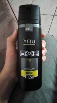 AXE - You fresh - Déodorant all day