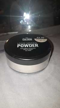 Primark - My perfect colour - Loose mineral powder porcelain 01