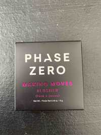 PHASE ZERO - Making moves - Fard à joues