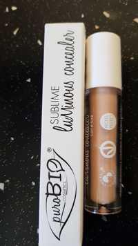 PuroBio Cosmetics - Sublime - Luminous concealer