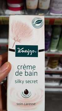 Kneipp - Silky secret - Crème de bain soin caresse