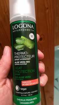 Logona - Thermo-protecteur - Spray hydratant aloe vera bio