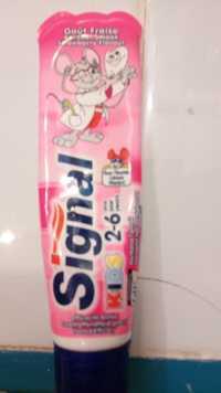 SIGNAL - Dentifrice kids - Goût fraise
