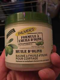 PALMER'S - Baume à l'huile d'olive pour coiffage