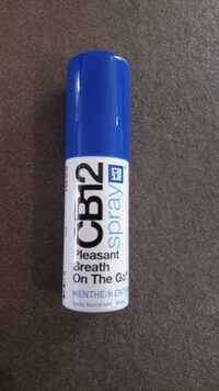 Cb12 - Spray buccal au menthe