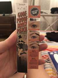 BENEFIT - Goof Proof Brow Pencil