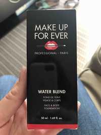 Make up for ever - Water blend - Fond de teint