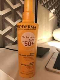 BIODERMA - Photoderm max SPF 50+  - Spray très haute protection
