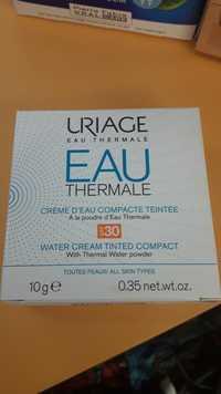 URIAGE - Eau thermale - Crème d'eau compacte teintée SPF30