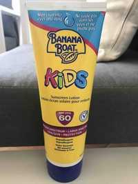 Banana Boat - Lotion écran solaire pour enfant SPF 60