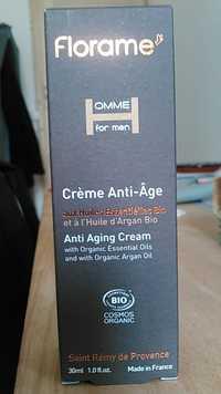 FLORAME - Homme - Crème anti-âge