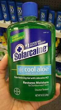 BAYER - Solarcaine cool aloe - Restores Moisture