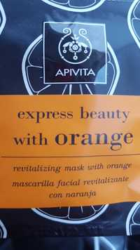 APIVITA - Express beauty with orange - Mascarilla facial revitalizante
