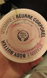 THE BODY SHOP - Vitamine E beurre corporel