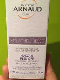 INSTITUR ARNAUD - Eclat jeunesse - Masque peel-off youthful radiance