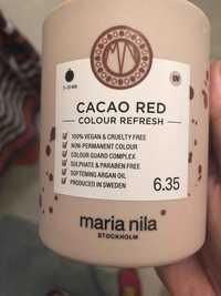 MARIA NILA - Cacao red - Colour refresh