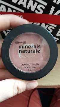 Bys - Minerals naturalè - Compact blush tickled pink