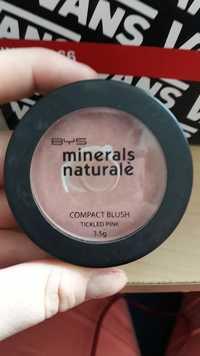 BYS - Minerals naturalè - Compact blush tickled pink