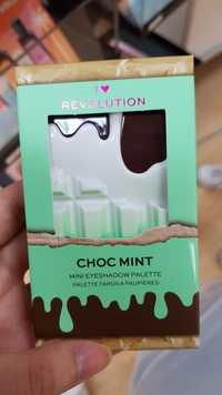 REVOLUTION - I heart choc mint - Palette fards à paupières