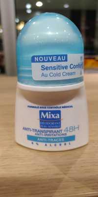 Mixa - Peau sensible - Déodorant 48h