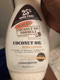 PALMER'S - Coconut oil - Body lotion