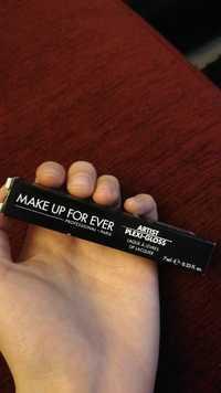 Make up for ever - Artist plexi-gloss - Laque à lèvres