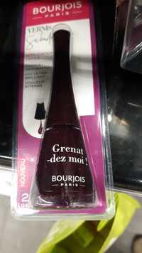 Bourjois - Grenat-dez moi ! - Vernis