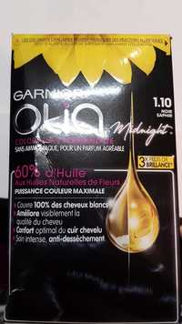 GARNIER - Olia midnight - Coloration permanente 1.10 noir saphir