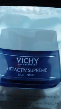 VICHY - Liftactiv supreme nuit - Correcteur anti-rides et fermeté