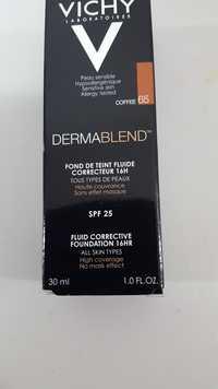 VICHY - Dermablend - Fond de teint fluide coffee 65