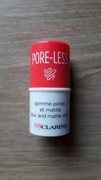 Clarins - Pore-less - Gomme pores et matité