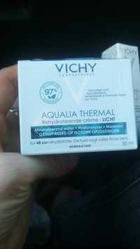 VICHY - Aqualia thermal - Rehydraterende crème - Licht