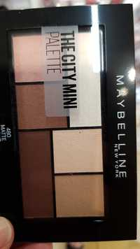 Maybelline - The city mini palette 480 matte