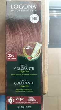 Logona - Crème colorante végétale 220 lin de vin bio