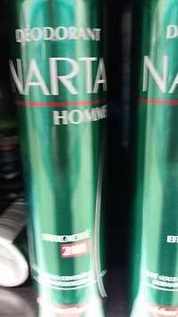 NARTA - Déodorant homme efficacité 24h