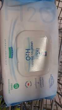 Biolane - Lingettes épaisses H2O