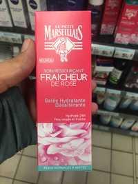 Le petit marseillais - Soin ressourçant fraîcheur de rose - Gelée hydratante désaltérante