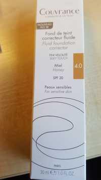 AVÈNE - Couvrance - Fond de teint correcteur fluide 4.0 SPF 20
