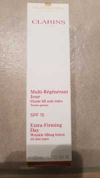 CLARINS - Multi-régénérant jour - Fluide lift anti-rides - SPF 15