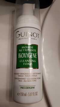 Guinot - Mousse nettoyante bioxygene