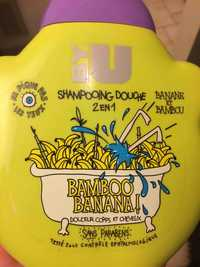 BY U - Bamboo Banana ! - Shampooing douche 2 en 1 - Banane et bambou