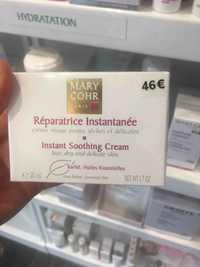 MARY COHR - Réparatrice instantanée - Crème visage